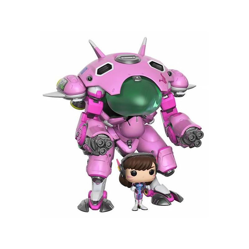 Overwatch - POP D.Va et de son Meka Big Figurine
