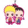 Boruto Naruto Next Generation - Keychain Naruto et Shikamaru Rubber Mascot