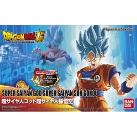 Dragon Ball Super - Maquette Articulée Sangoku SSGSS Figure-rise Standard