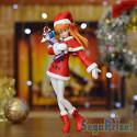 Evangelion - Figurine Asuka Langley Christmas Ver.