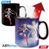 Sailor Moon - Mug Thermique Sailor et Chibi