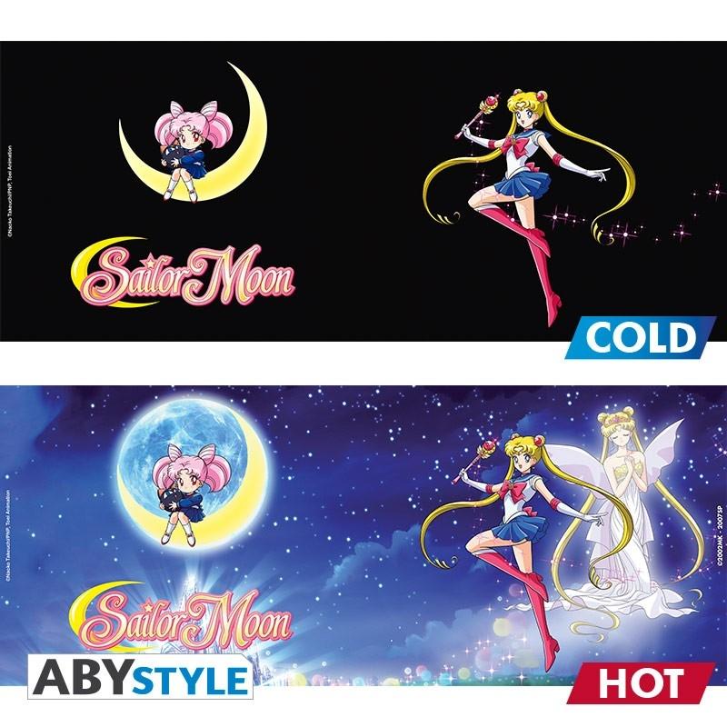 Sailor Moon - Mug Thermique Sailor Et Chibi
