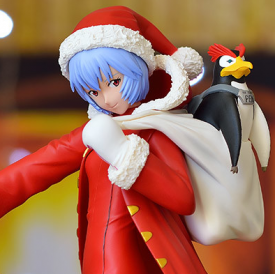 Evangelion - Figurine Ayanami Rei Christmas Ver.
