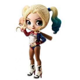 Justice League - Figurine Harley Quinn Q Posket