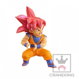 Dragon Ball Super - Figurine Sangoku SSJ God WCF Vol.10