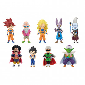 Dragon Ball Z - Pack WCF God vs God image