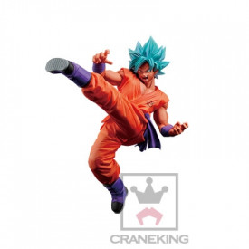Dragon Ball Super - Figurine Sangoku SSJ God SS Kaiohken FES Vol.5