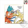 Dragon Ball Super - Shikishi Sangoku SSJ Blue et Golden Freezer Ichiban Kuji F Prize