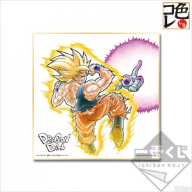 Dragon Ball Super - Shikishi Sangoku SSJ et Freezer Ichiban Kuji F Prize