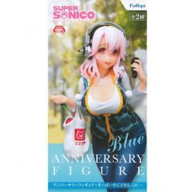 Super Sonico - Figurine Super Sonico Anniversary Blue Ver.