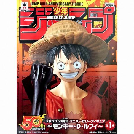 One Piece - Figurine Monkey D Luffy Jump 50th Anniversary