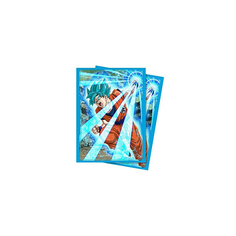 65 Protèges Cartes Super Saiyan Blue Son Goku Ultra Pro