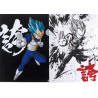 Dragon Ball Super - Pochette A4 Vegeta SSJ Blue Ichiban Kuji H Prize