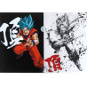 Dragon Ball Super - Pochette A4 Sangoku SSJ Blue Ichiban Kuji H Prize