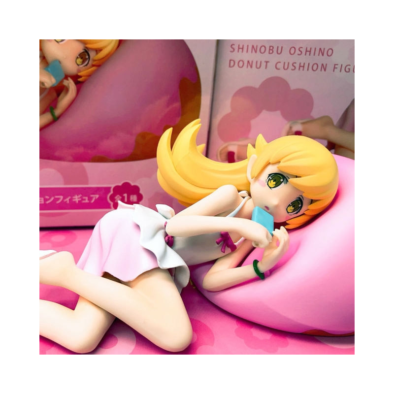 Monogatari Series - Figurine Oshino Shinobu Donut Cushion
