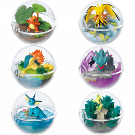 Pokemon - Feuforeve Pokéball Terrarium Vol.5