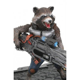 Avengers Infinity Wars - Figurine Thor et Rocket Raccoon Marvel Premier Collection