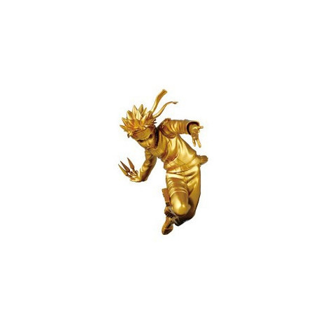 Naruto Shippuden - Figurine Naruto Uzumaki Jump 50th Anniversary Gold Ver.