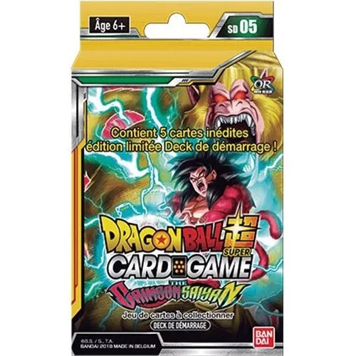 Dragon Ball Super - Deck The Crimson Saiyan
