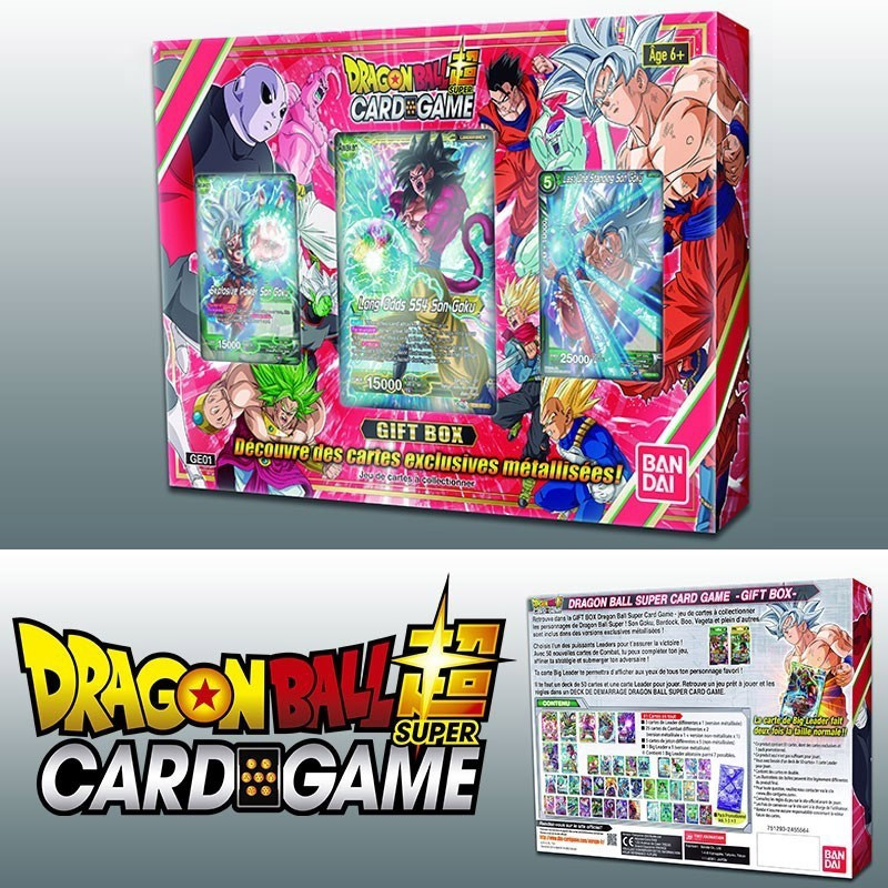 Dragon Ball Super JCC Gift Box