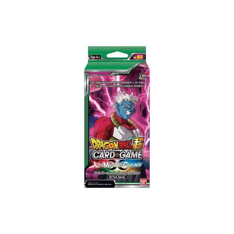 Dragon Ball Super - Pack Special Les Mondes Croisés