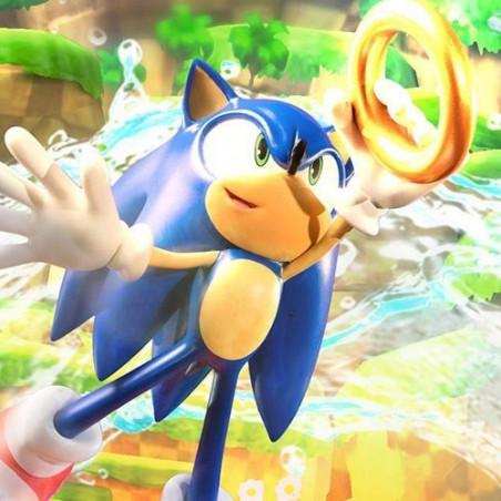 Sonic The Hedgehog - Diorama Sonic VS Chopper Figure image