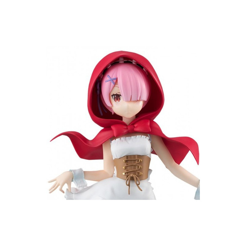 Re Zero - Figurine Ram Red Hood
