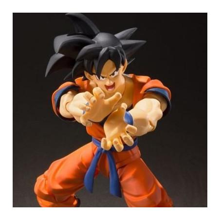 Dragon Ball Z - Figurine Sangoku Earth SH Figuarts image