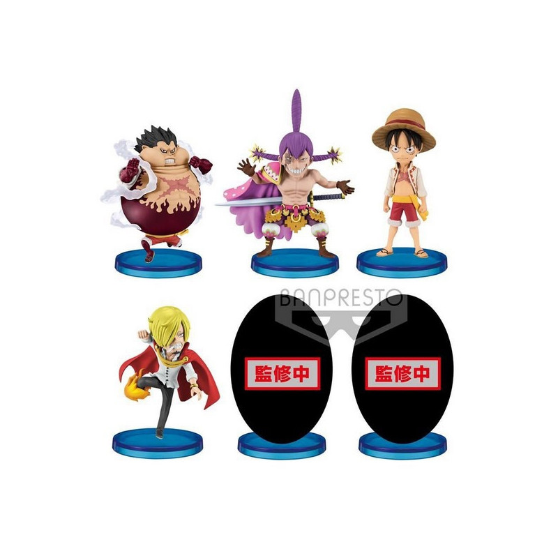 One Piece - Pack WCF Battle Of Luffy Whole Cake Island