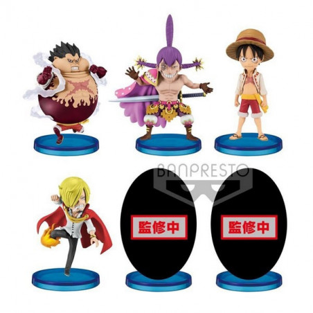 One Piece - Pack WCF Battle Of Luffy Whole Cake Island image