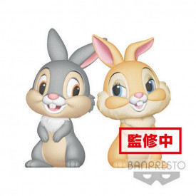 Disney Characters – Figurine Papan et Miss Bunny Q Posket