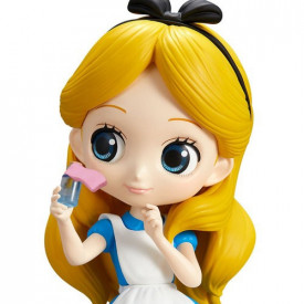 Disney Characters – Figurine Alice Q Posket Thinking Time Ver. A