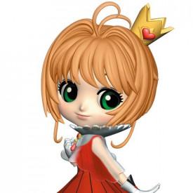 Sakura Cardcaptor – Figurine Sakura Kinomoto Q Posket Ver A