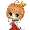 Sakura Cardcaptor – Figurine Sakura Q Posket Minomoto Ver A