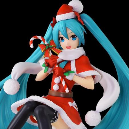 Vocaloid – Figurine Hatsune Miku Christmas 2018 SPM image