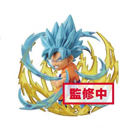 Dragon Ball Super - Figurine WCF Sangoku SSJ God Blue Burst image