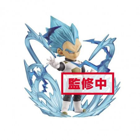 Dragon Ball Super - Figurine WCF Vegeta SSJ God Blue Burst image