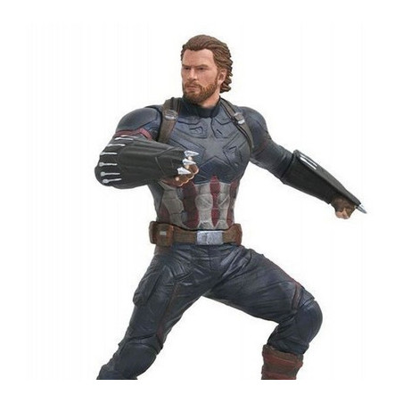 Avengers Infinity War  - Figurine Captain America Marvel Gallery image