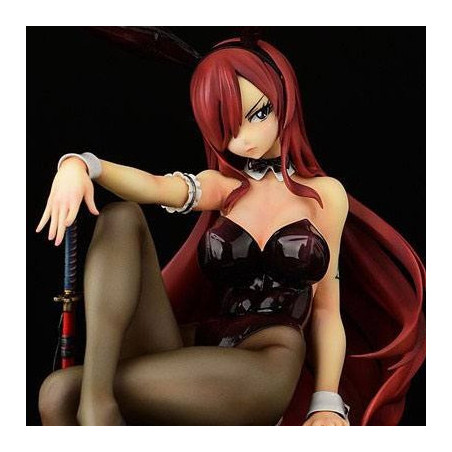Fairy Tail - Figurine Erza Scarlet Bunny Girl Style image