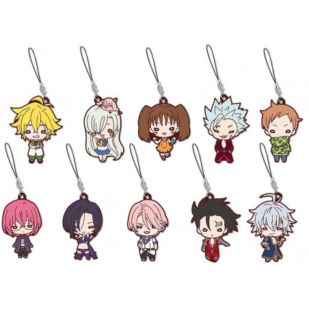 The Seven Deadly Sins - Strap Elizabeth Liones Rubber Mascot