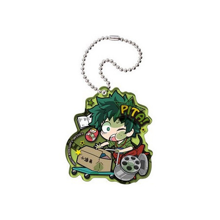 My Hero Academia - Strap Midoriya Izuku Acrylic Keychain Pita! Defome image