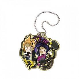 My Hero Academia - Strap Kaminari & Jiro Acrylic Keychain Pita! Defome