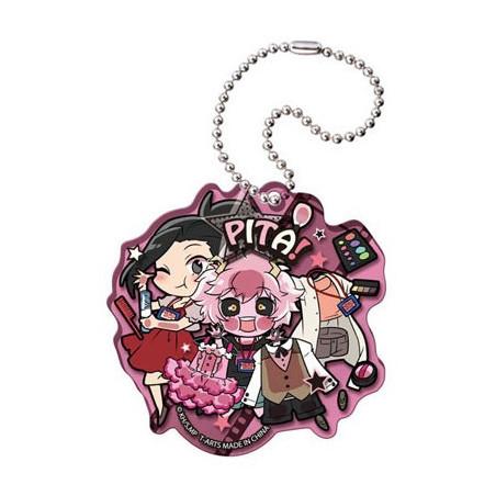 My Hero Academia - Strap Yaoyorozu, Ashido & Hagakure Acrylic Keychain Pita! Defome image