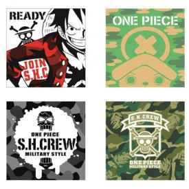 One Piece - Mini Serviette Brook Ichiban Kuji Military Style