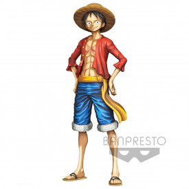 One Piece - Figurine Monkey D Luffy Grandista Manga Dimensions