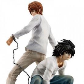 Death Note - Figurine Light Yagami et L G.E.M