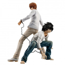Death Note - Figurine Light Yagami et L G.E.M