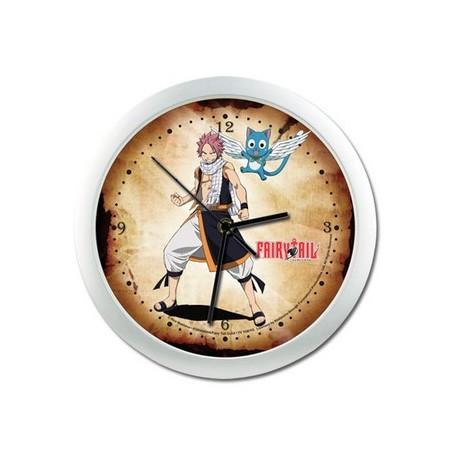 Fairy Tail - Horloge Murale Natsu & Happy image