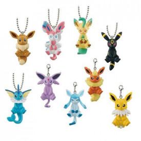Pokémon - Strap Figurine Phyllali Pocket Monsters Sun & Moon Special Evoli