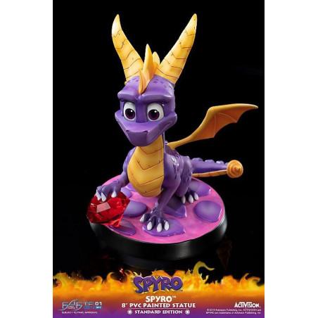 Spyro The Dragon - Figurine Spyro le dragon Painted Statue